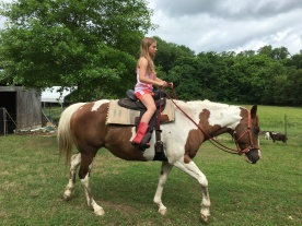 Aubrie on Dixie.